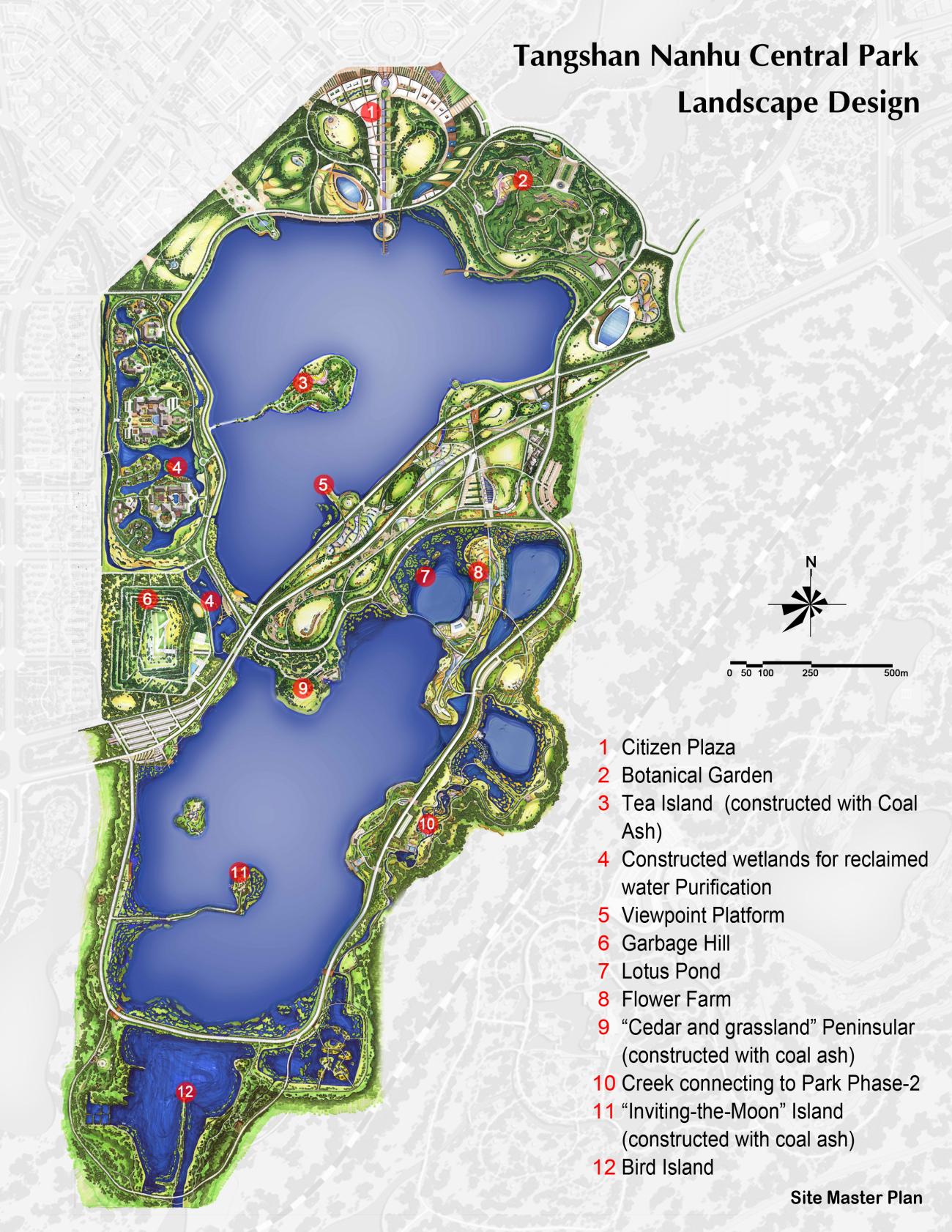 Tangshan nanhu central park landscape design fes click per ampliar la imatge gumiabroncs Image collections