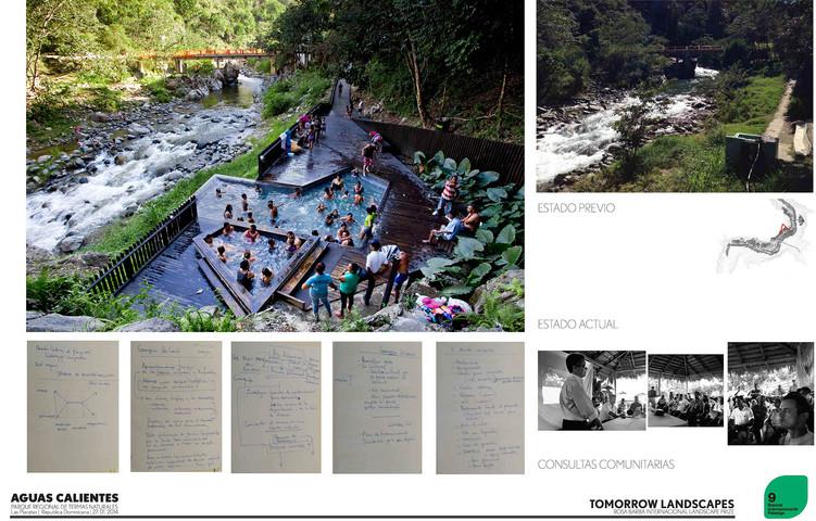 Parque de termas naturales aguas calientes for Aguas termales naturales madrid