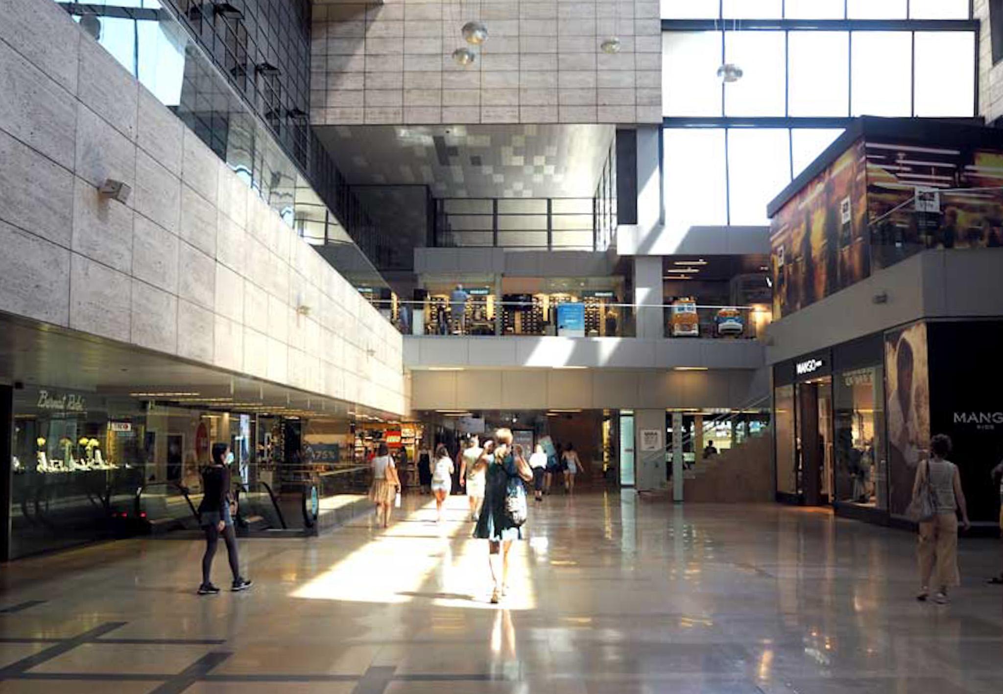 Interior centre comercial