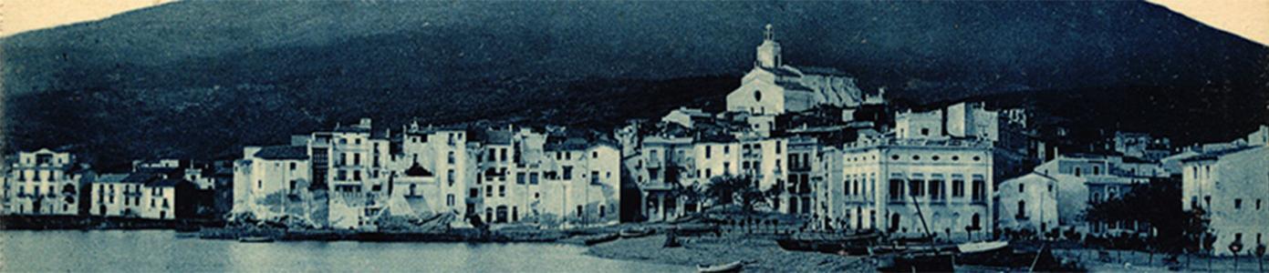 Imatge del poble de Cadaqués