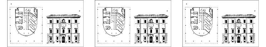 Mapa edifici antic