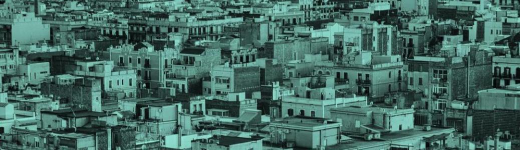 imatge vista de dron de Barcelona