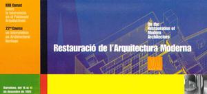 Restauració de l'arquitectura moderna