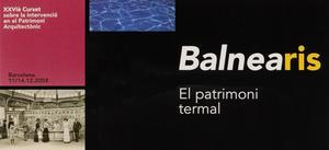Balnearis: el patrimoni termal