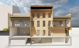 perfil d'edifici