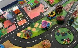 Exposició 'La Ciutat dels Nens', a la Sala 'La Cuina' de la Seu d'Urgell