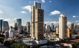Projecte de l'edifici guardonat al Brasil, CGI.