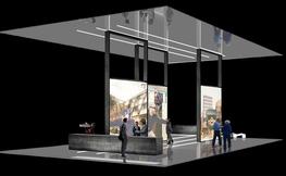 L'stand al BBC del construmat en realitat virtual.
