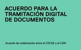 Un acuerdo entre el CSCAE y el CGN facilitará a los arquitectos la tramitación digital de documentos