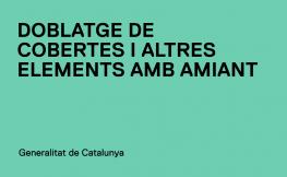 Nova Instrucció sobre el doblatge de cobertes i altres elements de fibrociment que continguin amiant