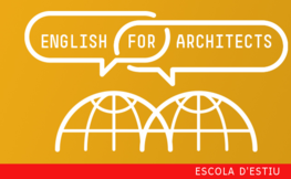 Escuela de Verano: Curso intensivo de inglés para arquitectos.