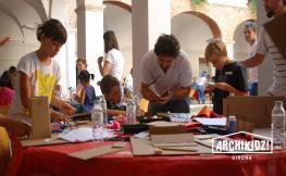 Taller d'arquitectura per a nens i nenes Archikidz Girona 2019, a Girona