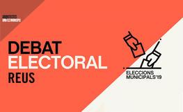Debat amb els candidats de Reus a les eleccions municipals 2019