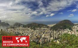 Vista de rio de Janeiro desde un dron.