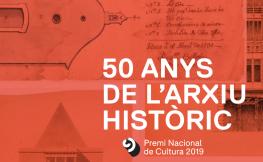 50 anys de l'arxiu històric.