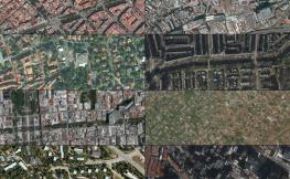 Collage imatges de stèl·lit.