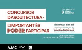 Concursos d'arquitectura l'important és poder participar