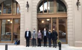 Delegació COAC del Pirineu inaugurant una nova seu a l'Alt Urgell