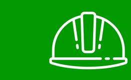 Logo d'un casc d'obra.