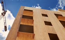 Edifici de fusta.