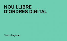 Nou llibre d'ordres digital