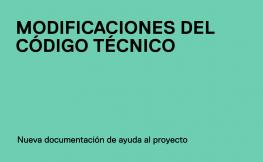 La OCT actualiza el ejemplo de Memoria del proyecto de un edificio plurifamiliar