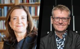 Tercera sessió del Cicle d'Homenatge a Enric Miralles, amb Beatriz Colomina i Mark Wigley