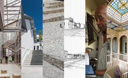 Collage d'imatges d'obres arquitectòniques