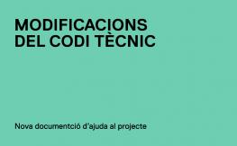 L'OCT publica nous documents d'ajuda al projecte que incorporen les modificacions del CTE