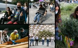 Collage asistents una ciutat més inclusiva