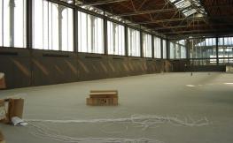 Sala Mirador en procés de reforma