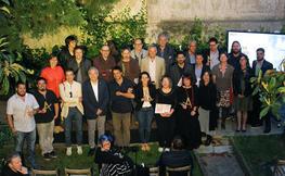 Participants del premi d'Arquitectura Tradicional Toni Cobos 2018