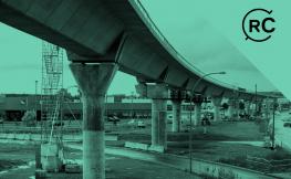 Pont en construcció