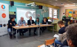 Presentació del projecte Magnet a l'escola Camps Elisis de Lleida