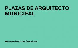 El COAC impugna la convocatòria de places d'arquitecte de l'Ajuntament de Barcelona