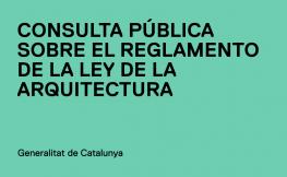 Reglamento de la Ley de arquitectura catalana