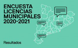 Resultados de la encuesta sobre licencias municipales en Cataluña
