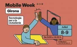 cartell mobile week girona
