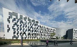 Edifici de Departaments a la Universitat d'Econòmiques de Viena