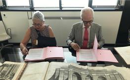 Assumpció Puig i Hors i Antonio Sagnier