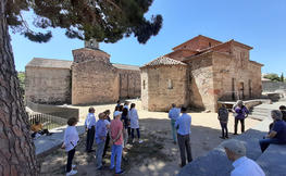 Visita a la Seu d'Ègara: Esglésies de Sant Pere de Terrassa