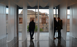 Exposició de les propostes presentades al Concurs del Palau de Vidre de Lleida
