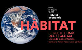 3a sessió del Cicle Hàbitat: Economia