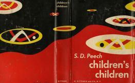 Portada del libro Childre'ns children de S.D. Peech