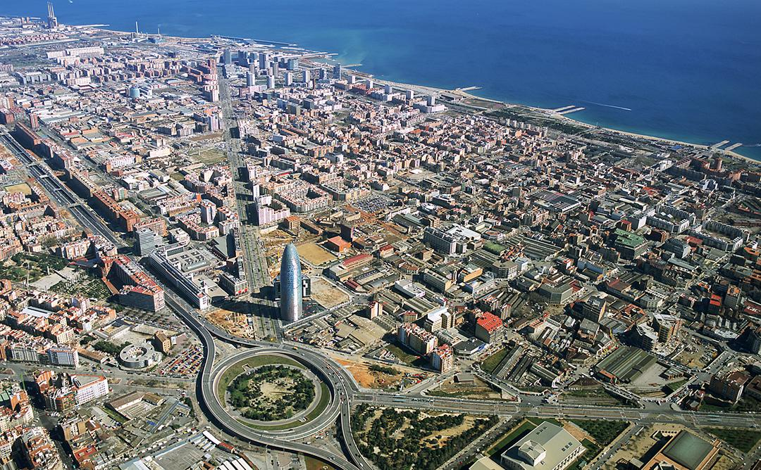 imatge aèria 22@ Barcelona