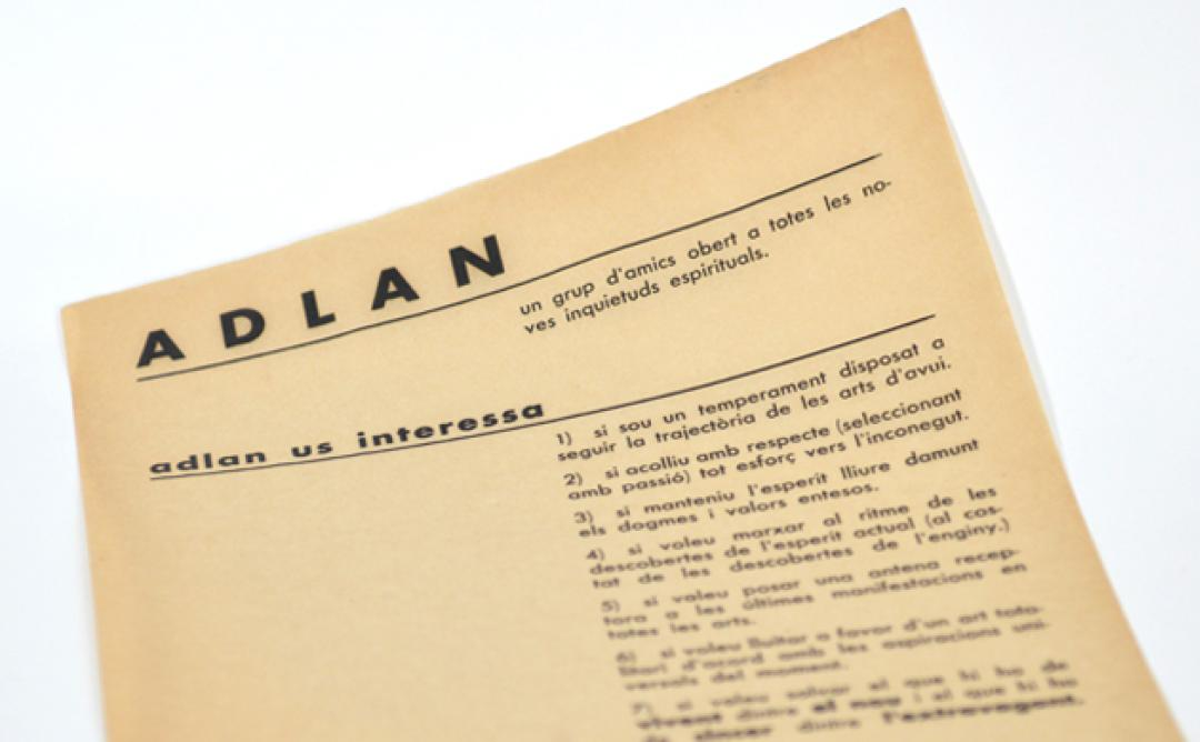 ADLAN reneix de la mà de l'Arxiu Històric del COAC