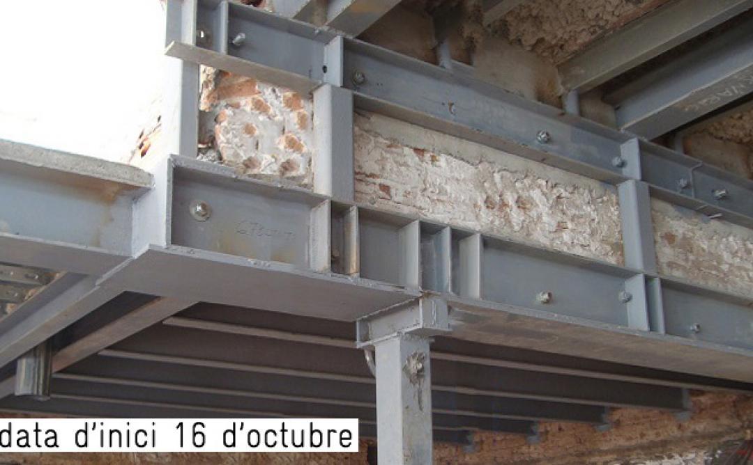 Curs de Càlcul d'estructures en rehabilitació: fonaments, murs i pilars