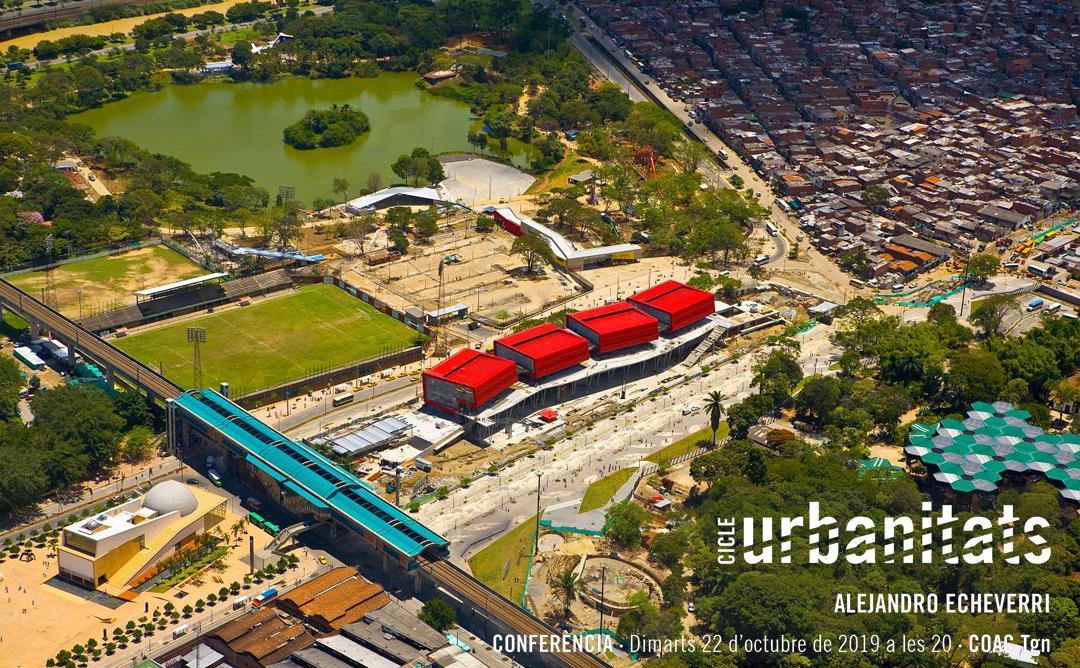 Cicle Urbanitats · Conferència d'Alejandro Echeverri · Urbanisme social a Medellín