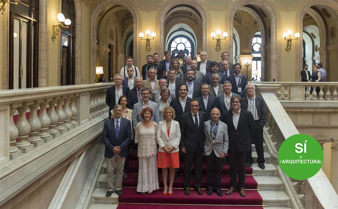 Quatre anys de tasca conjunta en favor del valor social de l'arquitectura