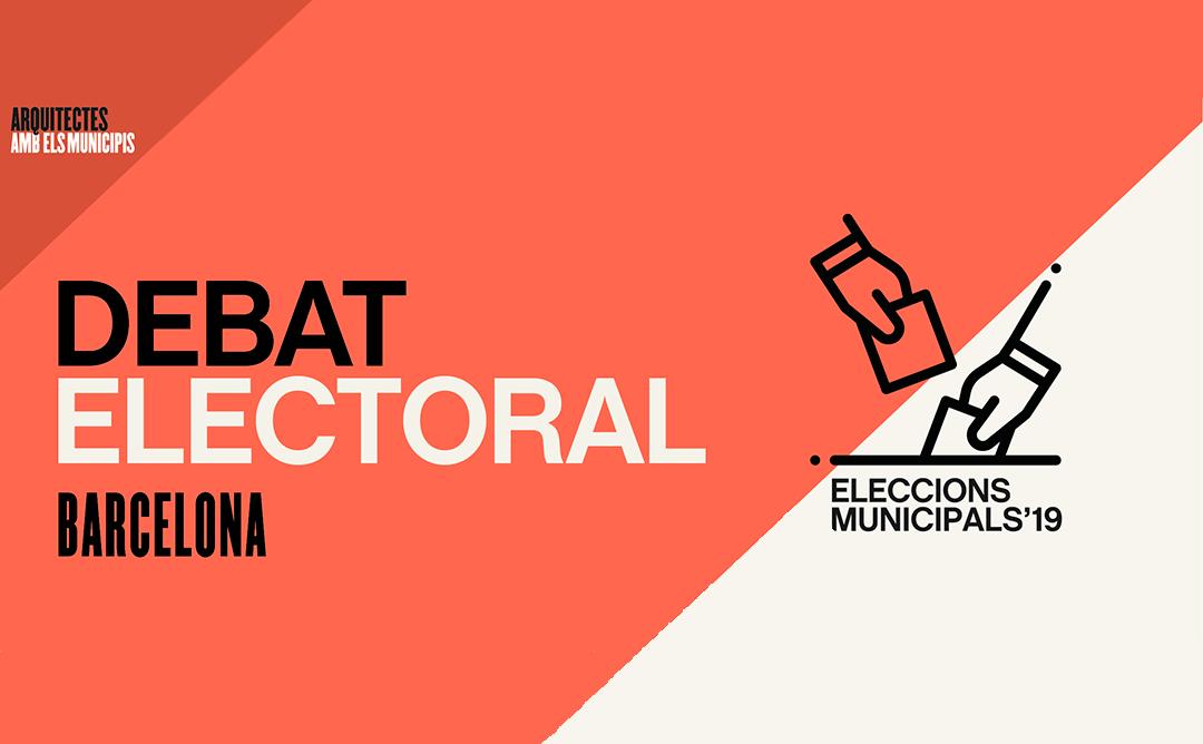 Debat amb les candidatures de Barcelona
